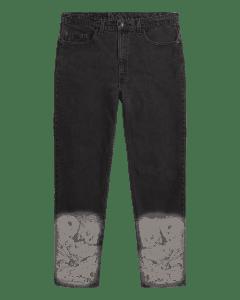 VTGE Series Denim with Catacombs Print – Black 31 / Medium (30-32)
